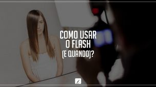 como usar o flash