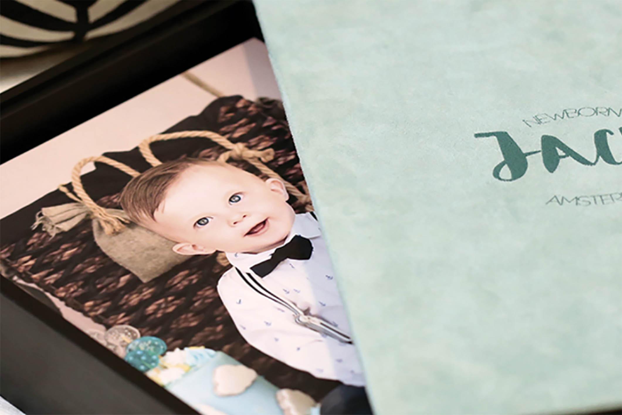 3 dicas para impressionar na montagem do álbum de bebê personalizado